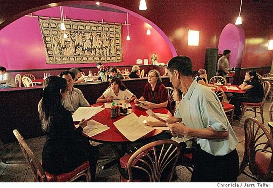 Event on 8/19/04 in San Francisco. Owner/chef Jimmie Kwok's (cq) Bodega Bistro is a Vietnamese/French restaurant at 607 Larkin Street in SF. Chronicle photo by Jerry Telfer / The Chronicle Photo: Jerry Telfer