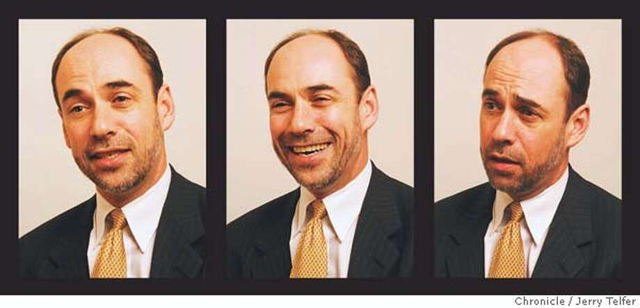 Douglas Holtz-Eakin is the director of the Congressional Budget Office. Chronicle photos by Jerry Telfer