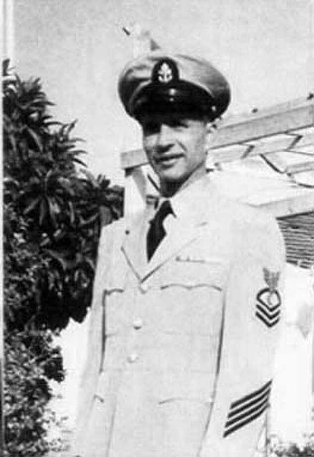 "JOSE ""JOE"" N. FLORES  12 JUNE 1898-27JUNE 2004, CHIEF PETTY OFFICER, US NAVY WORLD WAR II"