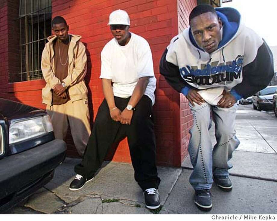 sucker052_mk.jpg  San Francisco rappers Seff San Quinn and JT Bigga Figga are part of the insperation for Spike Lee's Sucka Free City project.  Mike Kepka / The Chronicle MANDATORY CREDIT FOR PHOTOG AND SF CHRONICLE/ -MAGS OUT Photo: Mike Kepka