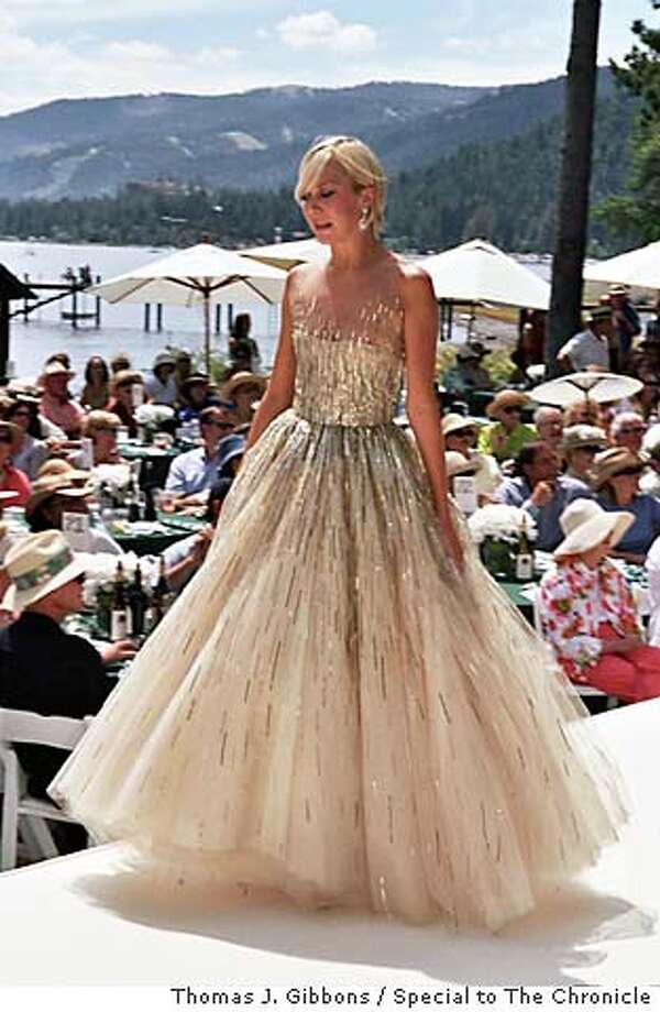 Oscar de la Renta fasion show for the League to Save Lake Tahoe -- details tk  Photo by Thomas J. Gibbons / Special to The Chronicle