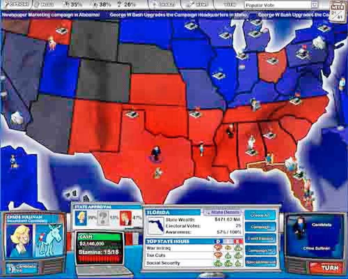The Political Machine is for players who can't get enough of the real-time campaigns, or want to mix and match candidates.
