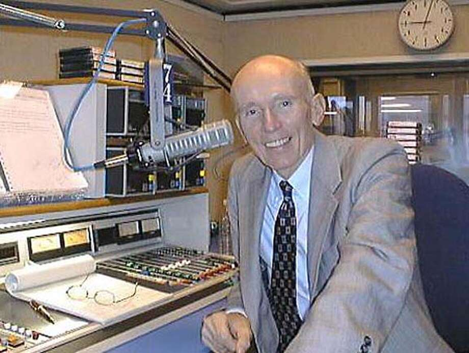 HART17/C/16MAY00/DD/HO-KCBS radio newsman Al Hart  HANDOUT Photo: HANDOUT