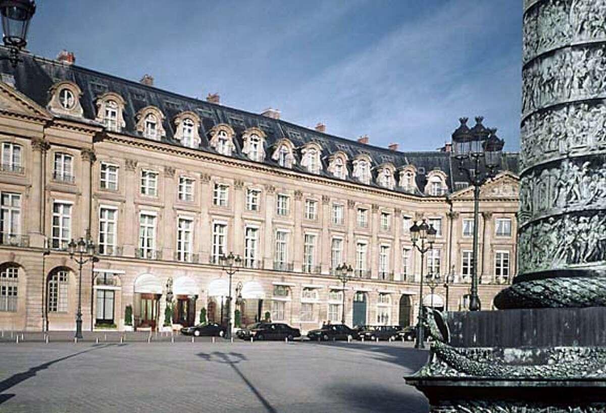 travel_hemingway_01.jpg 8/26/03 in Paris. / Courtesy of Ritz Hotel Paris