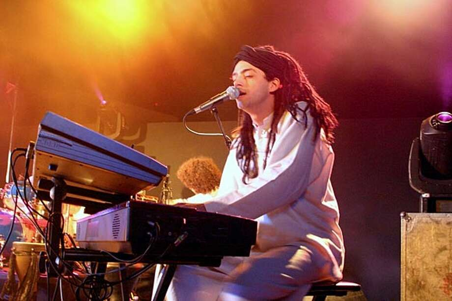 Idan Raichel fronts the Idan Raichel Project, an Israeli group that performs the music of Ethiopian Jews in Amharic and Hebrew.