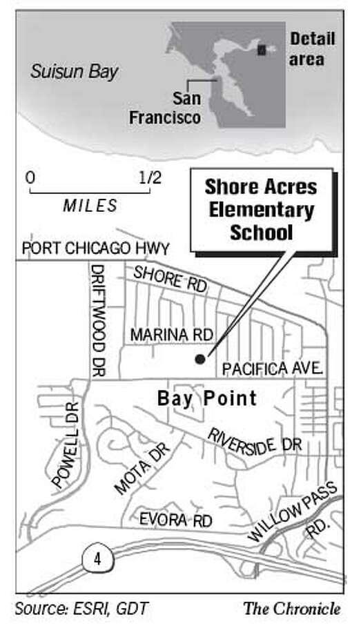 Shore Acres Elementary School. Chronicle Graphic