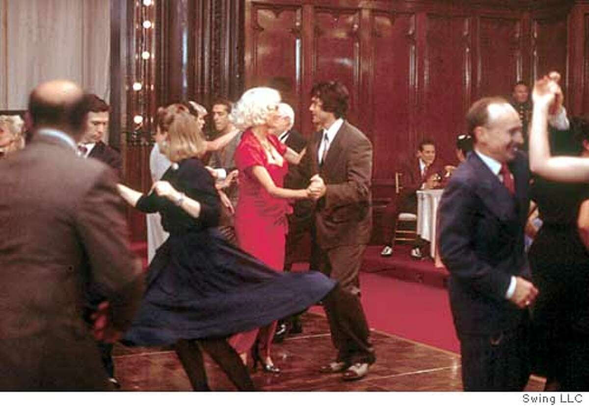 """Jacqueline Bisset and Innis Casey dance in """"Swing."""" Photo Courtesy Swing Movie LLC"""