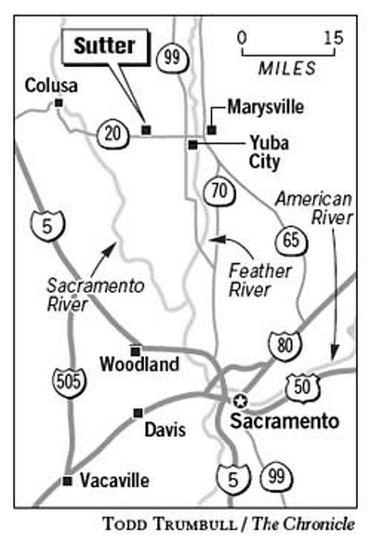 Sutter. Chronicle Graphic by Todd Trumbull