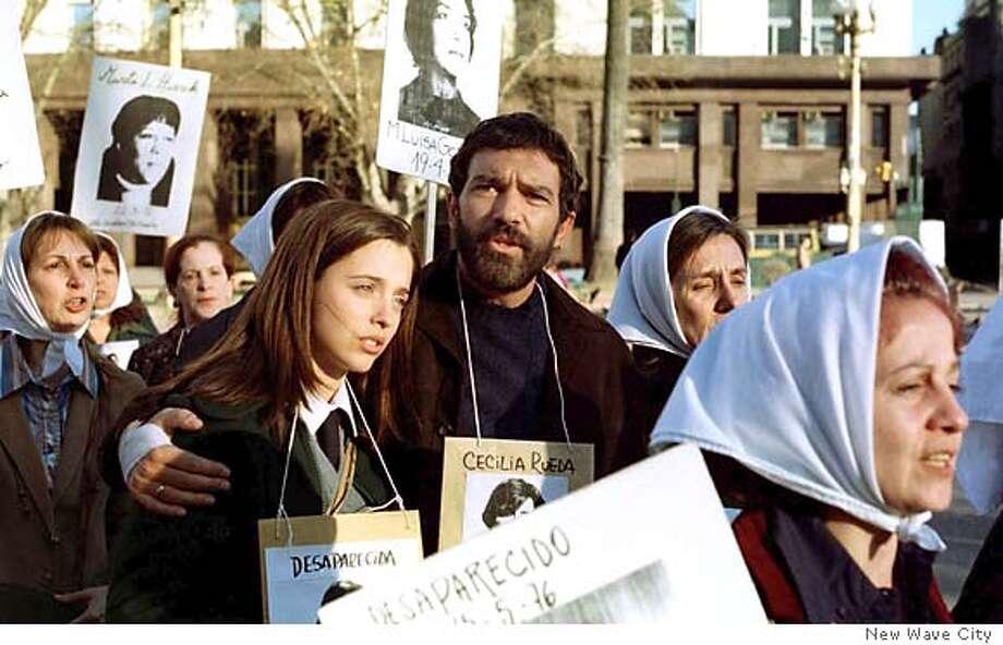 Imagining.jpg Antonio Banderas asCarlos and Leticia Doleraas Teresa in Imagining Argentina. New Wave City