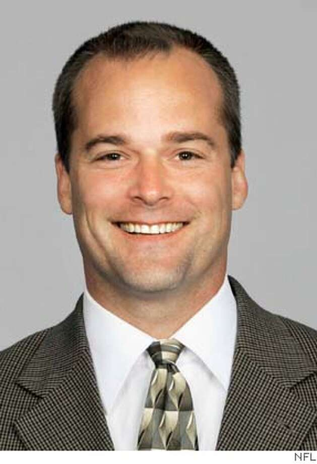 ** FILE ** Billy Davis, shown in this 2004 photo released by the NFL, was hired to be the San Francisco 49ers' defensive coordinator Sunday, Feb. 6, 2005, leaving the New York Giants after one season as their linebackers coach. (AP Photo/NFL) A 2004 HANDOUT PHOTO. EDITORIAL USE ONLY