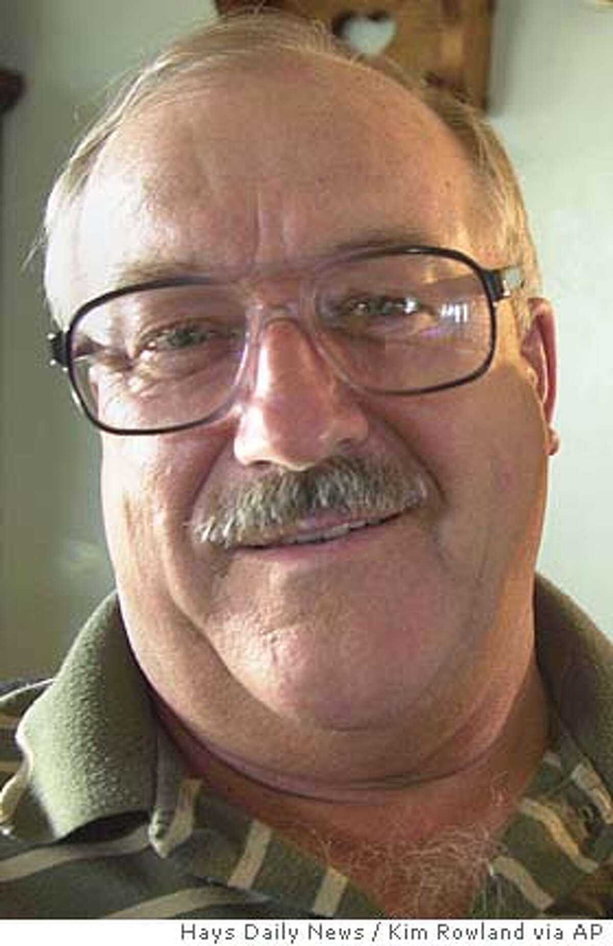 Larry Thurlow, of Bogue, Kan., and fellow veterans who served in a swift boat unit with Joh Kerry in Vietnam, formed a group called Swift Boat Veterans for Truth and have produced a commercial and a short documentary aiming to discredit Kerry's war heroism. AP Photo/Hays Daily News/Kim Rowland