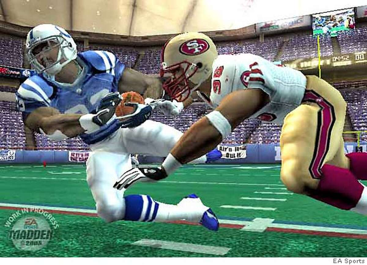 Madden NFL 2005 game by EA Sports. HANDOUT Ran on: 08-15-2004 Ran on: 08-17-2004 Madden NFL 2005 polishes the look of the game that has dominated game play for 15 years. Customize the teams or take the 49ers all the way to the Super Bowl.