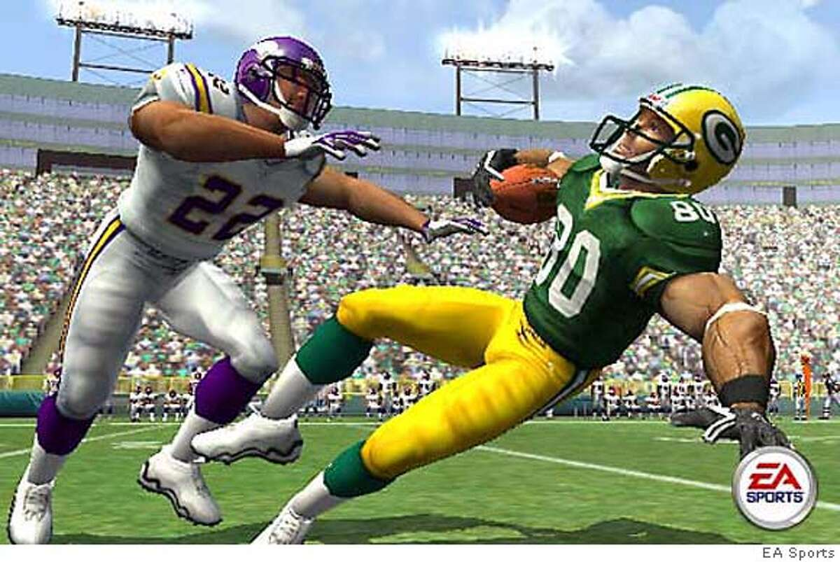 Madden NFL 2005 game by EA Sports. HANDOUT