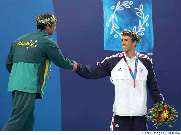 Phelps Is Thorpedoed American Earns 3rd Medal A Bronze