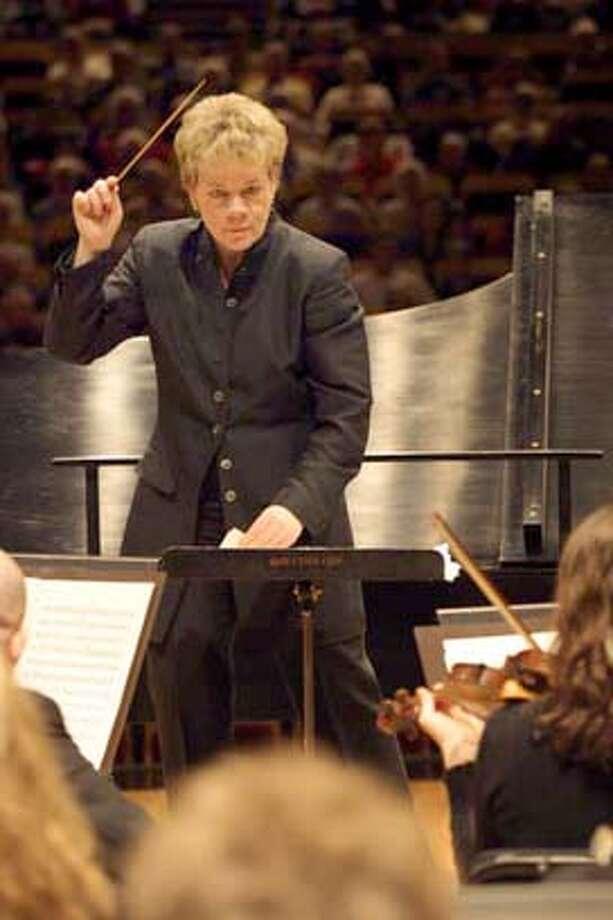 alsop05.JPG Marin Alsop, Cabrillo Festival of Contemporary Music's Music Director . HANDOUT Ran on: 08-05-2004  Marin Alsop