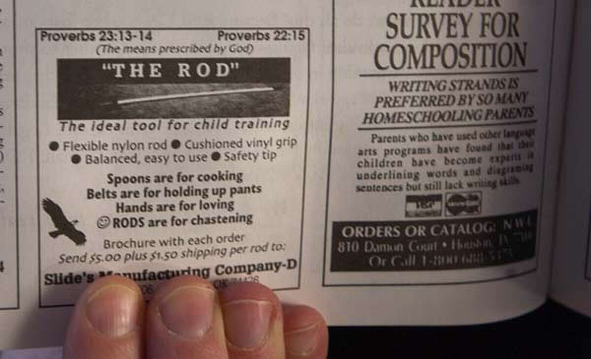 ARLINGTON,MASS.--Susan Lawrence, the leader of Stop the Rod campaign, was appalled to find a tool called