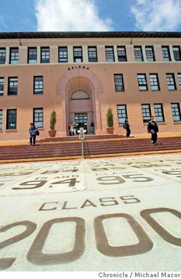San Francisco's Balboa High. Chronicle photo by Michael Macor