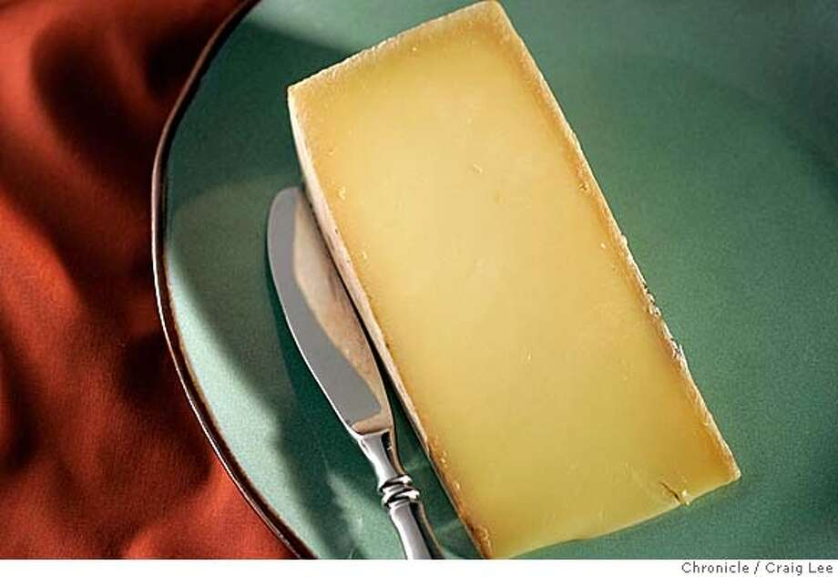 Raclette cheese. Food photo styled by Amanda Gold.  Event on 1/14/05 in San Francisco. Craig Lee / The Chronicle Photo: Craig Lee