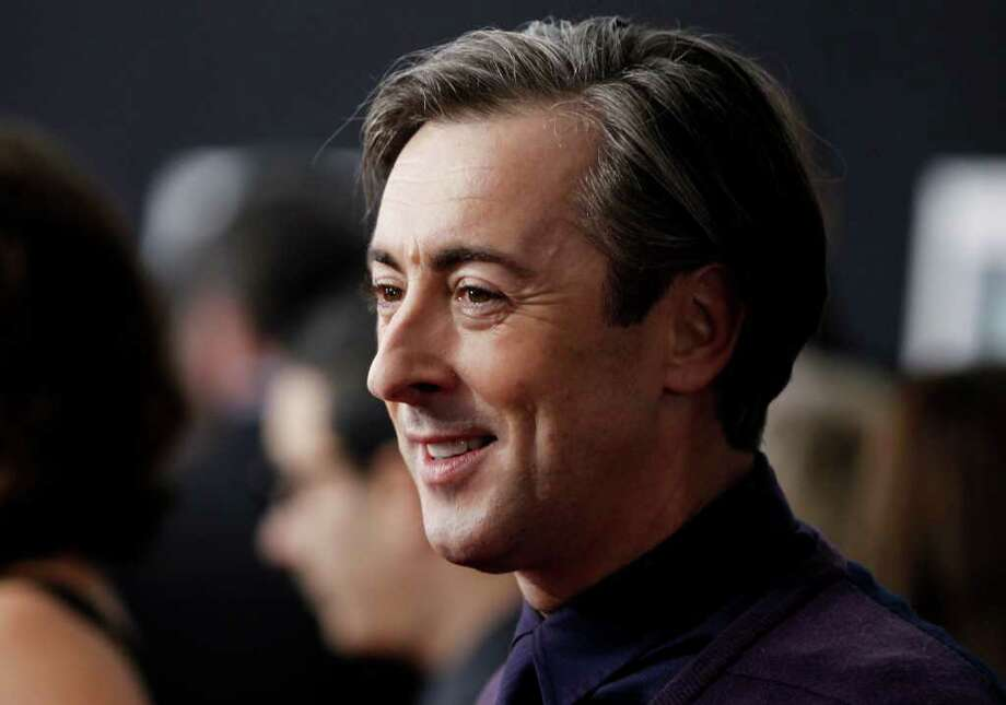 """Cast member Alan Cumming arrives at the premiere of """"The Tempest"""" in Los Angeles on Monday, Dec. 6, 2010.  (AP Photo/Matt Sayles) Photo: Matt Sayles / AP"""