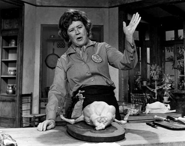 THIS IS A HANDOUT IMAGE. PLEASE VERIFY RIGHTS. Julia Child (1974). Photo: HANDOUT