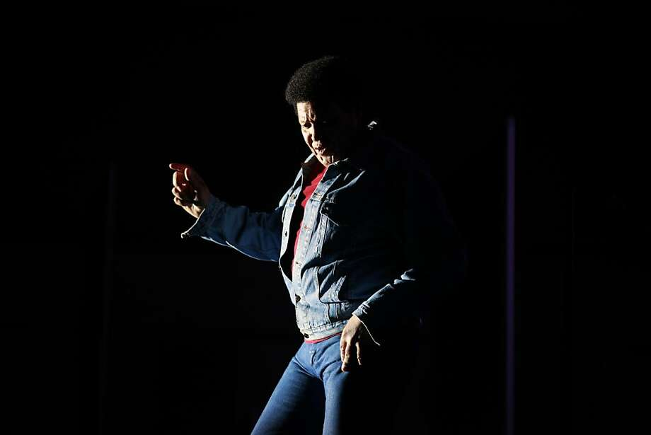 Singer-composer Chubby Checker performs the Twist at Thunder Valley Casino on the eve of the 50th anniversary of his history making song the Twist. Friday, January 6, 2012 Photo: Lance Iversen, The Chronicle