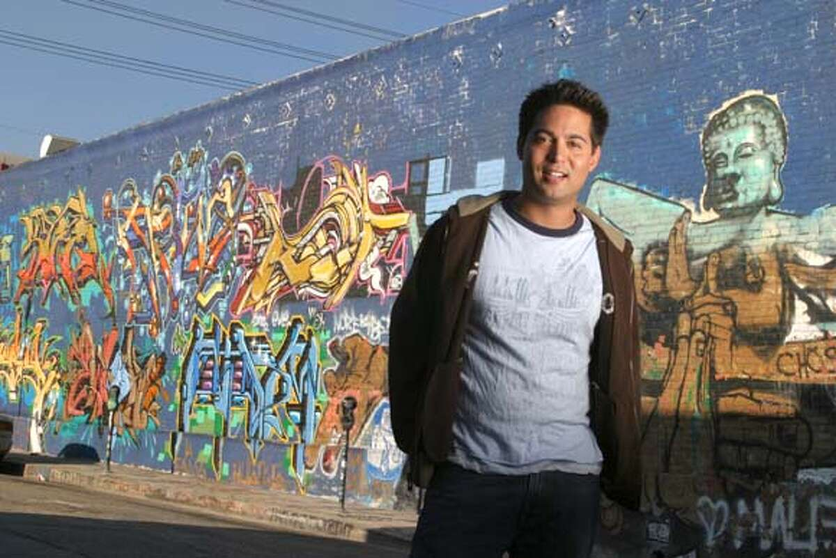 THE COLOR OF FUNNY: Dan Gabriel, the host of ASIA STREET COMEDY