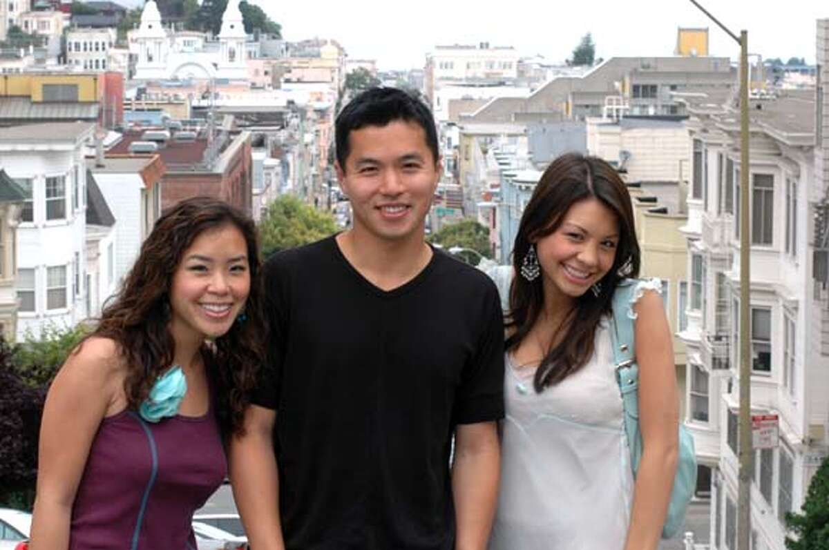 MIX MASTERS: The hosts of Stir, the first nationally broadcast English-language show for Asian Americans, strike a pose