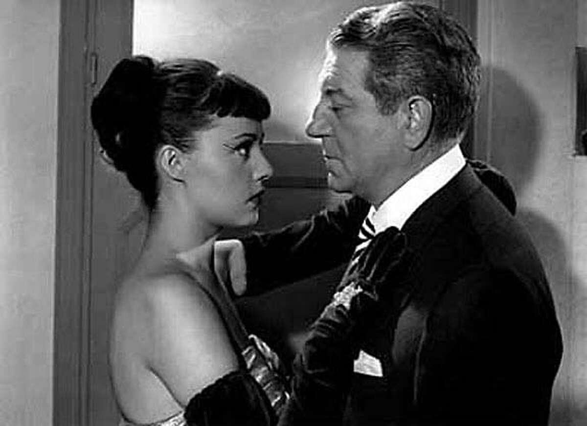 "Rene Dary and Jean Gabin in ""Touchez Pas Au Grisbi,"" 1954"
