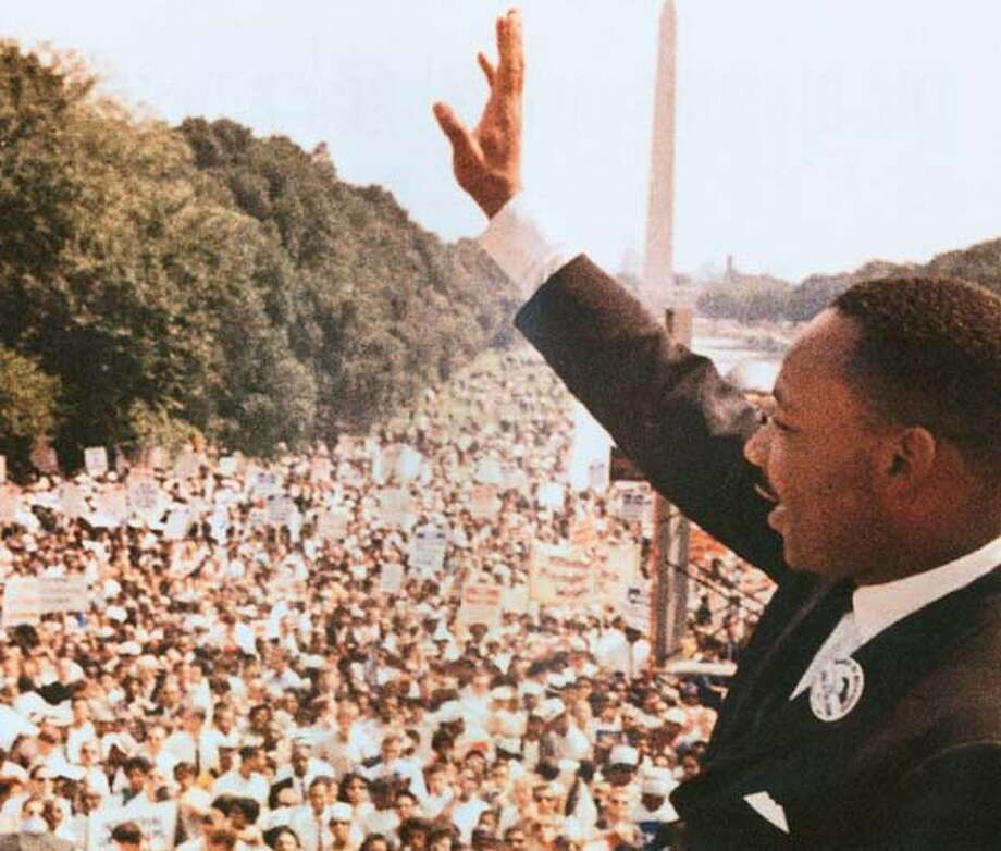 Martin Luther King Jr. at the March on Washington 1963. BookReview#BookReview#Chronicle#01-30-2005#ALL#2star#e6#0422592809