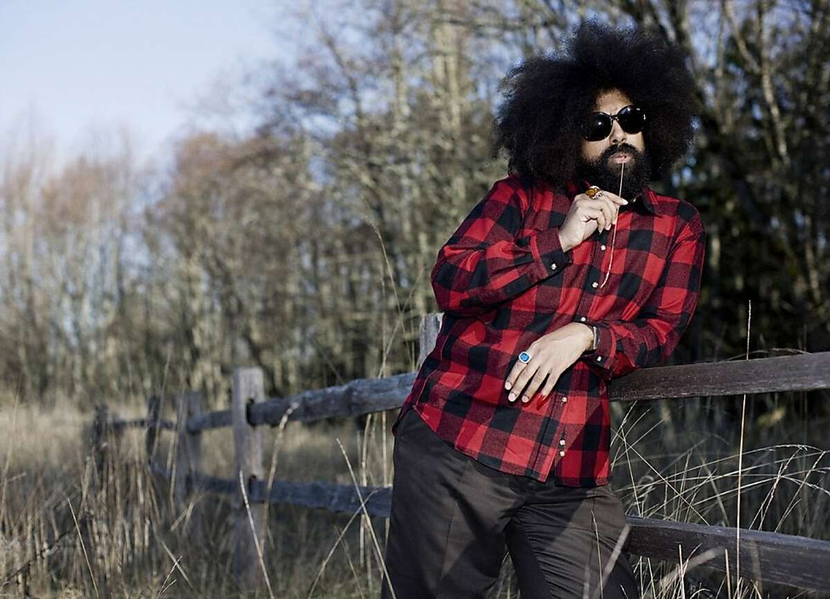 Musician/comedian Reggie Watts opens for Conan O'Brien during the duo's two-day set at the Nob Hill Masonic Center tonight and Friday.
