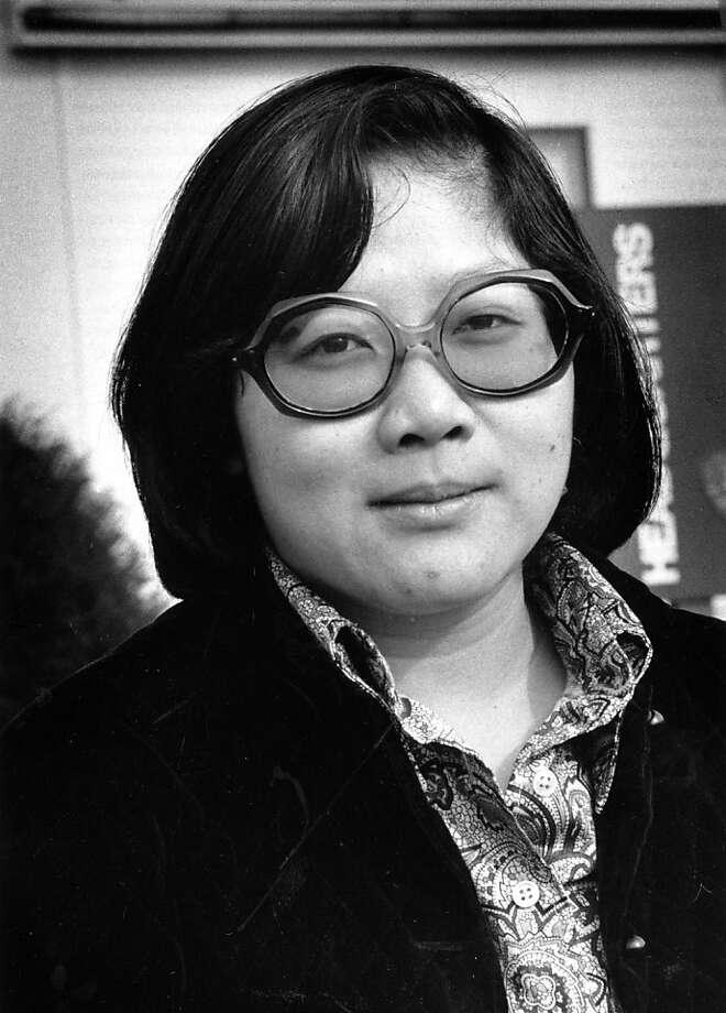 Rose Pak, former San Francisco Chronicle employee.  Photo was taken January 25, 1977. Photo: Joseph Rosenthal, San Francisco Chronicle