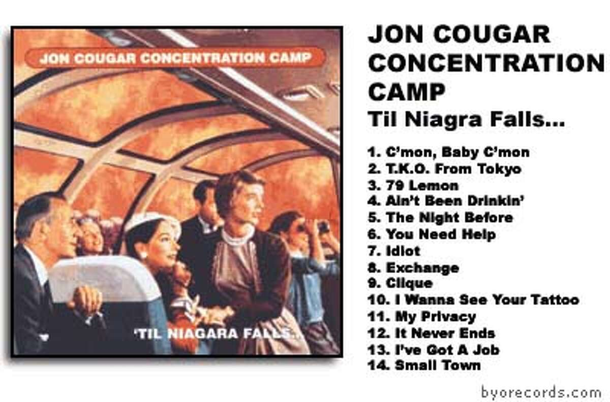 Cool name, commercial failure: Jon Cougar Concentration Camp
