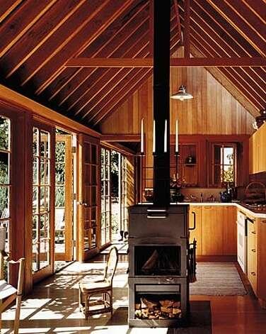 Open plans unpretentious design characterize new small