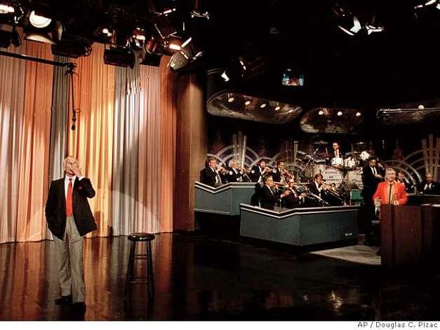 Tonight Show Set Carson Johnny Carson Tonight Show