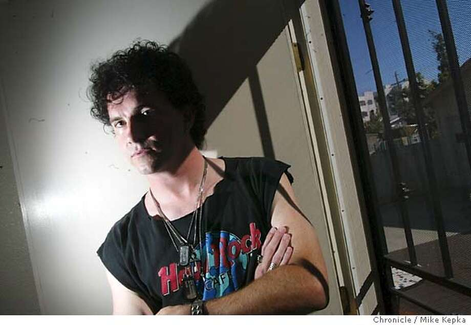 "Jayson Gallaway is the author of ""Diary of a Viagra Fiend.""  MIKE KEPKA/The Chronicle Photo: MIKE KEPKA"