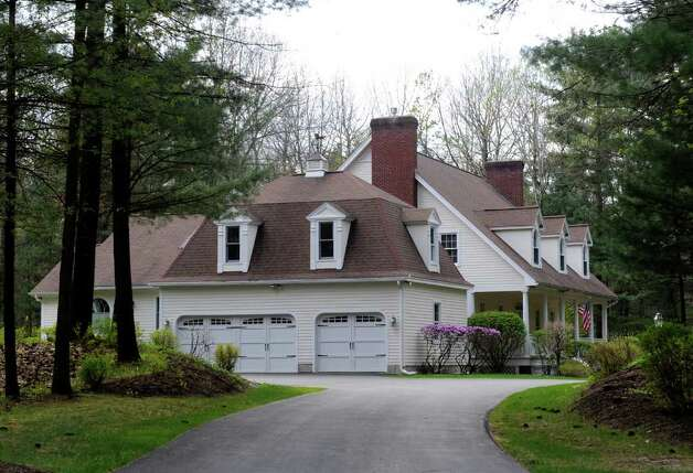 The home of David Smith at 2 Rolling Brook in Saratoga, New York April 21, 2010. (Skip Dickstein/Times Union archive) Photo: Skip Dickstein / 2008