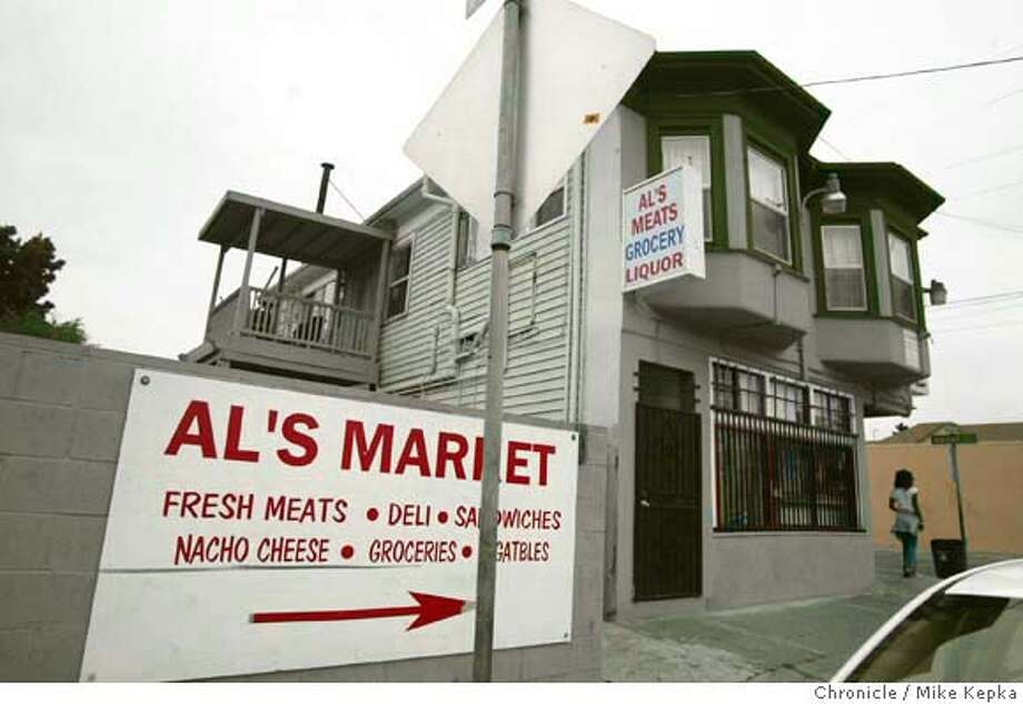 Al's Market on West Street in Oakland is the site of much controversy. The City Attorney's office has succeeded in shutting the down the store after they say the owner repetedly did nothing to deter crime from happening on his property.  MIKE KEPKA/The Chronicle Photo: MIKE KEPKA
