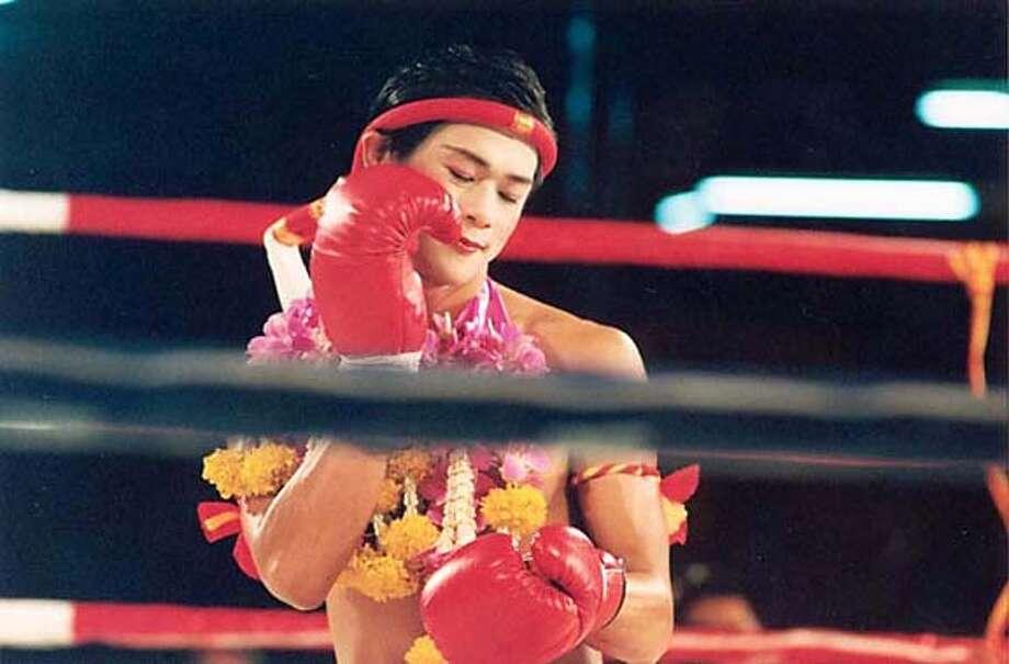 """Asanee Suwan as Nong Toom, transgender kick boxer, in """"Beautiful Boxer"""" Photo: Regent Releasing"""