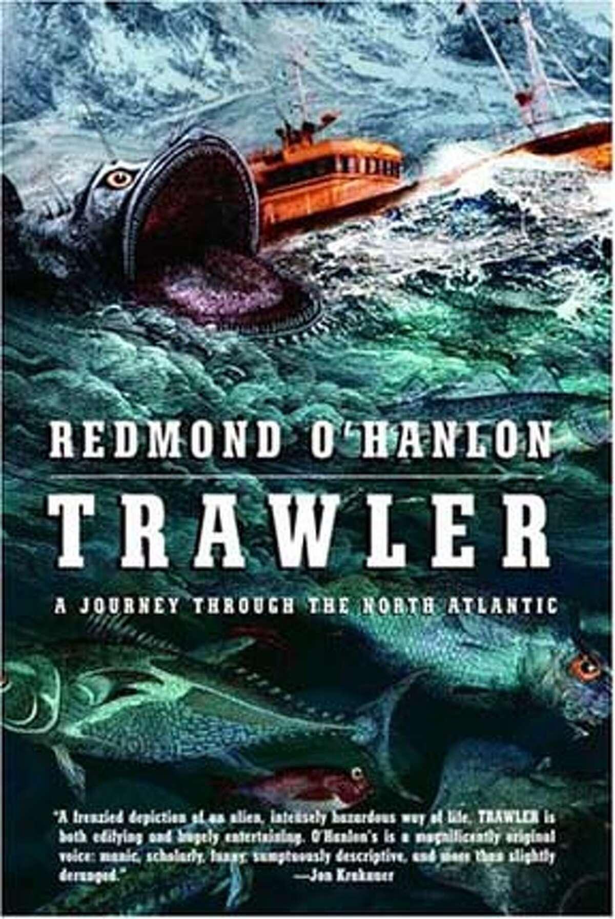 Book cover art for, Trawler.