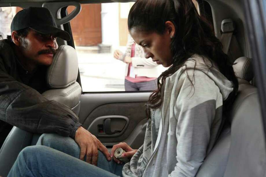 Laura (Stephanie Sigman) dreams of becoming a beauty-contest queen in a Mexico dominated by organized crime. Photo: Cananea Films