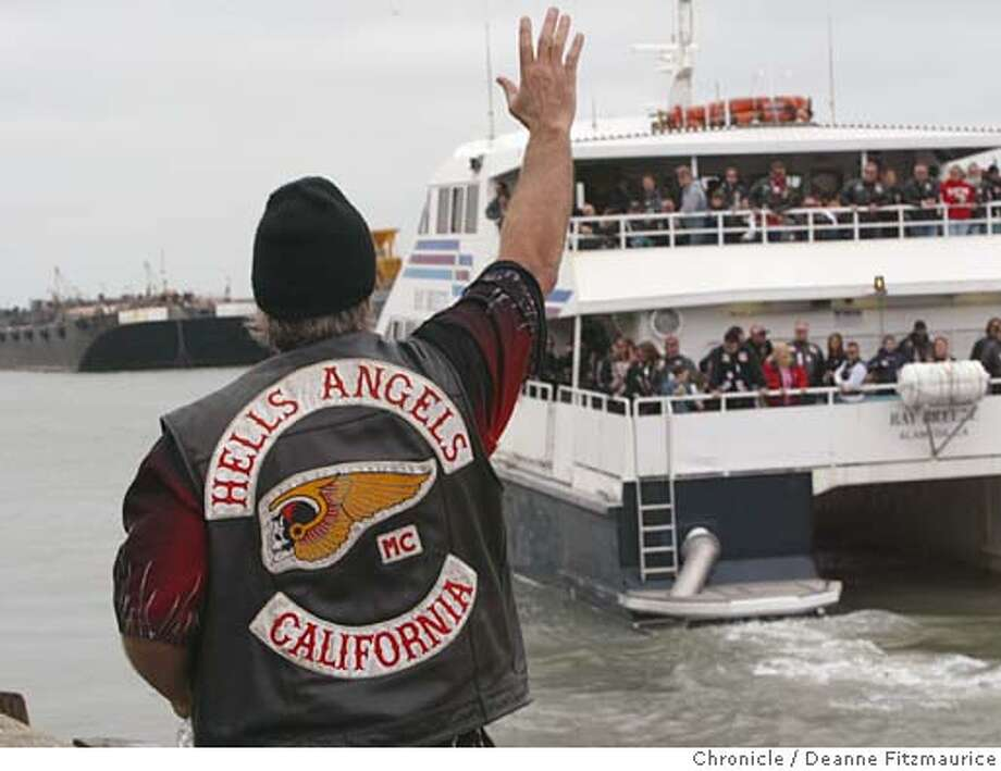 SAN FRANCISCO / Angelic orders descend on S F  / Hells Angels Frisco