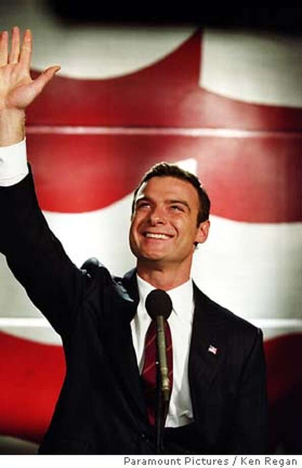 Liev Schreiber plays a hero-turned-politician. Paramount Pictures photo by Ken Regan