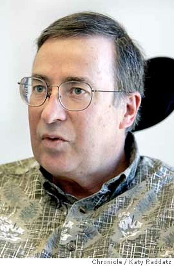 ALS_rad.jpg SHOWN: Dr. Rick Olney. Story about ALS, Amyotrophic Lateral Sclerosis, (Lou Gehrig's Disease). We interview Dr. Rick Olney at UCSF whose research has focused on this disease. Carl Hall is the reporter. Katy Raddatz / The Chronicle Photo: Katy Raddatz