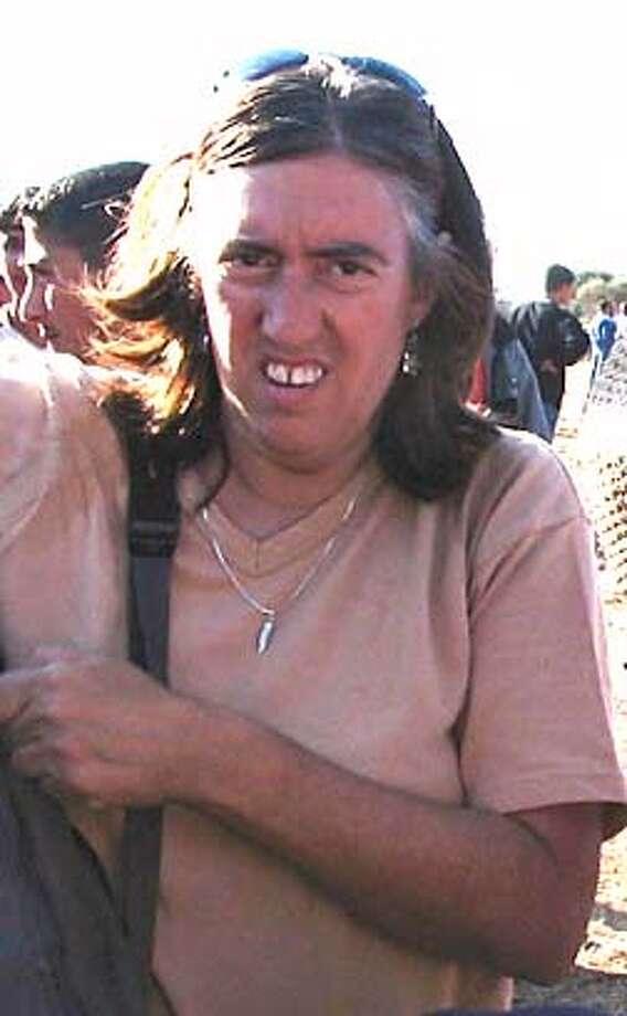 / for: Friday slug: activist06; Berkeley activist Kate Raphael, who is fighting deportation in the West Bank. International Women's Peace Service / HO Photo: International Women's Peace Serv
