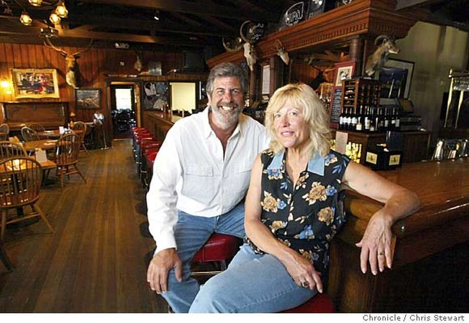 Event on 7/20/04 in Nicasio  Wife and husband team Angela Strehli and Bob Brown run the family-owned Rancho Nicasio in the western Marin hamlet of Nicasio. They regulary book music groups in their restaurant/bar/club for the country-and-western sound and flavor of west Marin. Chris Stewart / The Chronicle Photo: Chris Stewart