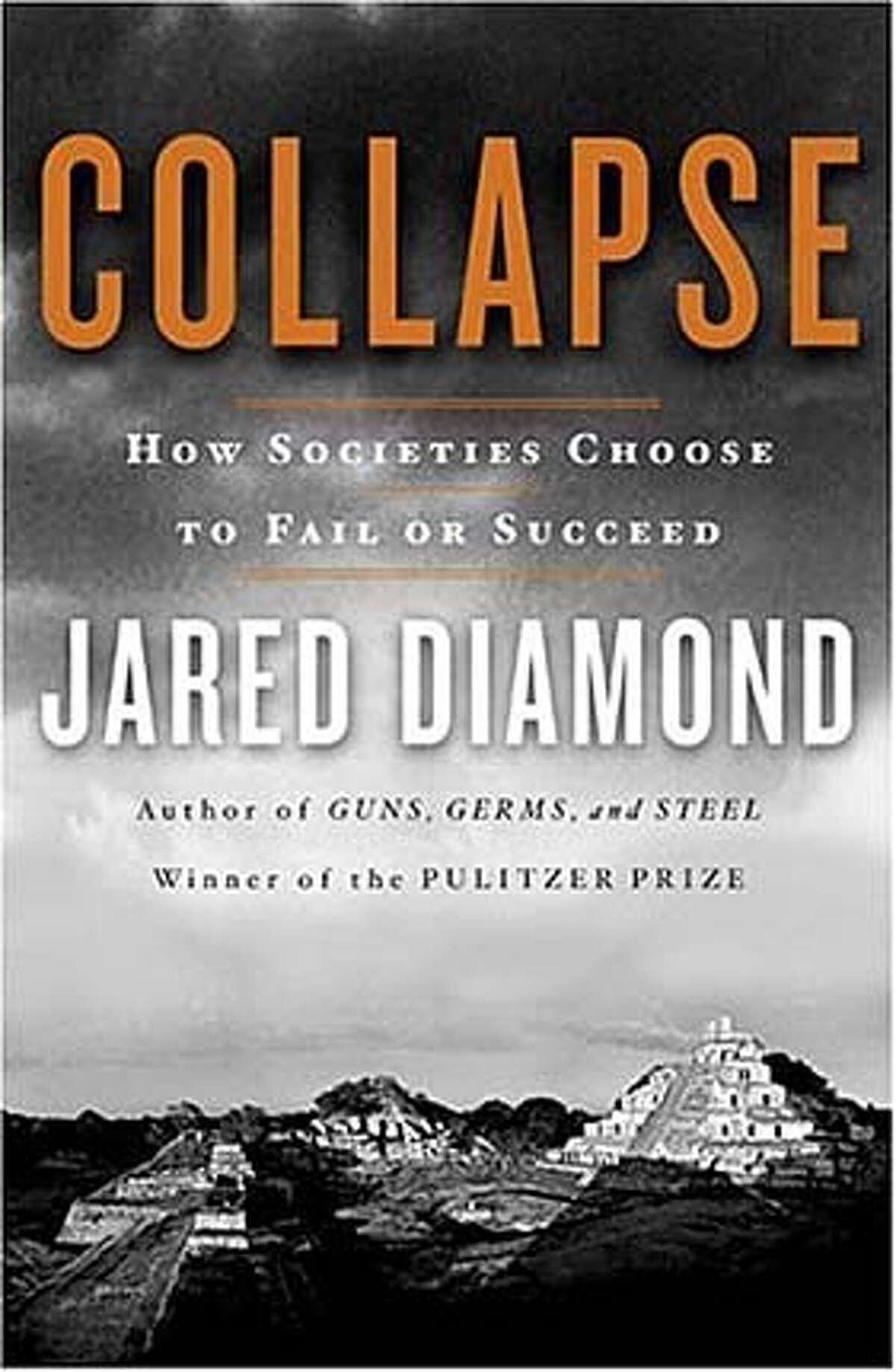 """Book cover art for, """"Collapse""""."""