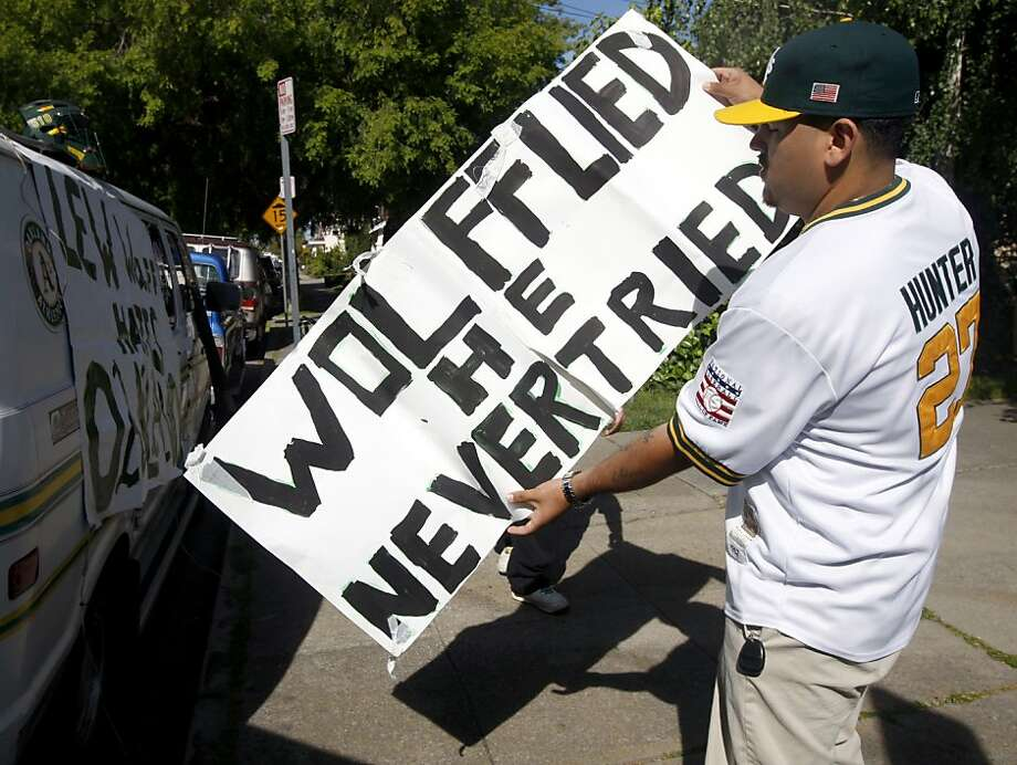 Lew Wolff has been the front man for the A's efforts to move, and the target of many longtime fans' discontent. Photo: Paul Chinn, The Chronicle
