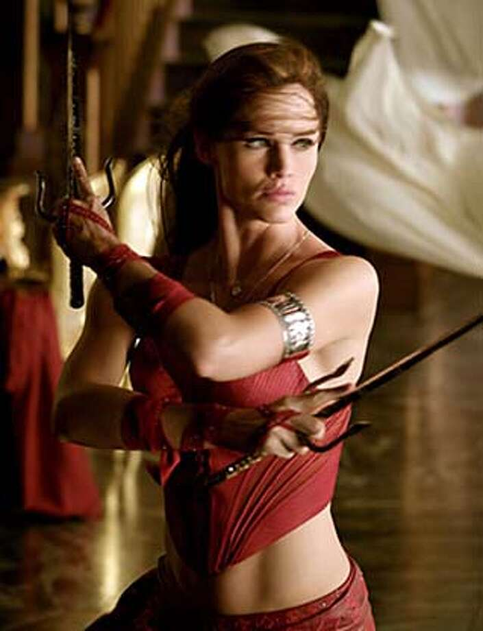 "Jennifer Garner in ""Elektra,"" 2004 Photo: 20th Century Fox"