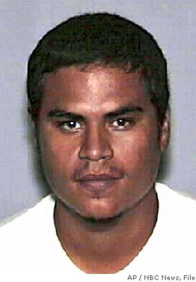 "** FILE ** Jose Padilla is shown in this undated photo. The Supreme Court agreed Friday, Feb. 20 2004. A federal judge will hear arguments Wednesday, Jan. 5, 2005, on whether the government can continue to hold Padilla, an accused terrorist and enemy combatant, without charges. Padilla, who was arrested in Chicago in 2002 as he was entering the country, has not been charged with a crime. The federal government alleges he was part of an al-Qaida plot to detonate a radiological ""dirty bomb"" in the UnitedStates. (AP Photo/NBC News, File) MANDATORY CREDIT/ONLINE OUT// /UNDATED FILE PHOTO"