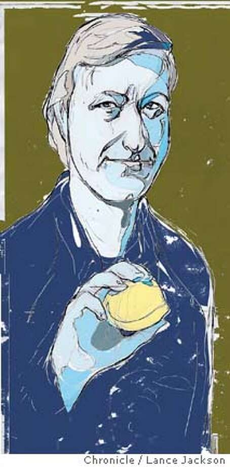 """The Lemon Table Stories"" by Julian Barnes. Chronicle illustration by Lance Jackson Photo: Lance Jackson"